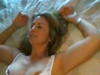 Mature housewife gets fucked — 4